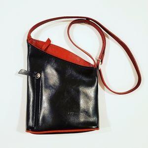 Monarchy Crossbody Leather Bag